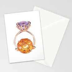 Circles in circles Stationery Cards