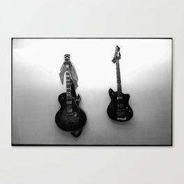 Guitars Canvas Print