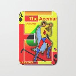 THE ACEMAN ... Logo Poster Bath Mat
