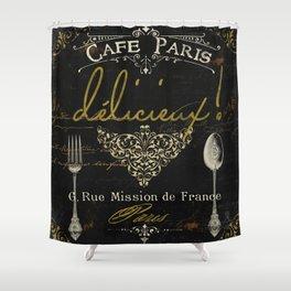 La Cuisine III Shower Curtain