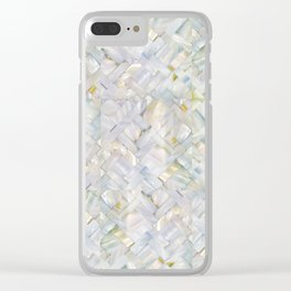 woven seashells Clear iPhone Case