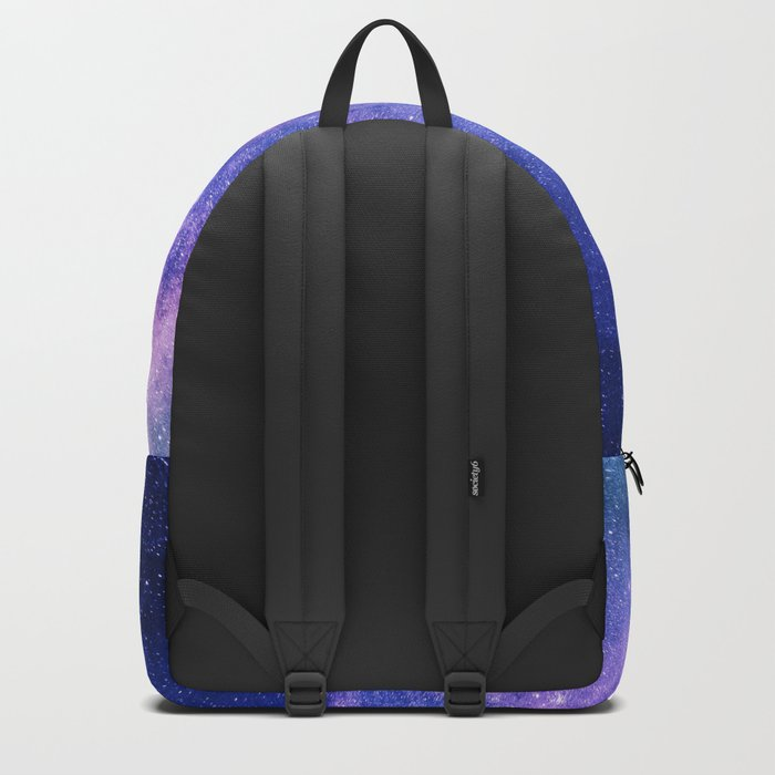 Blue Purple Night Sky, Universe, Galaxy Backpack