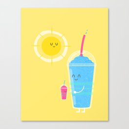 Cool Treat to Beat the Heat Canvas Print