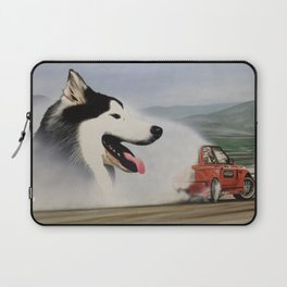 Andy Hateley and Wolf Gonzo Laptop Sleeve