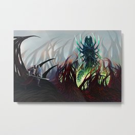Silver-Tongued Demon Metal Print