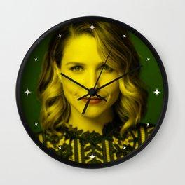 Sophia Bush - Celebrity (Florescent Color Technique) Wall Clock
