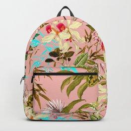 Gardenia #pattern #botanical Backpack