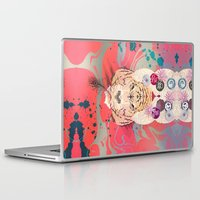 psychedelic Laptop & iPad Skins featuring Psychedelic by Pepe Psyche