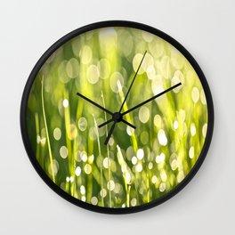 One Summer Morning Wall Clock