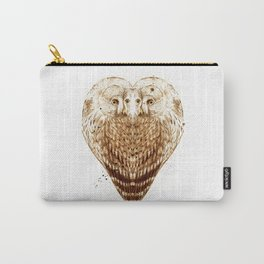 Owl Heart Carry-All Pouch