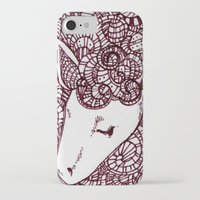 sheep iPhone & iPod Cases featuring Sheep by Monique Turchan