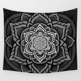 Flower of Life Mandala Wall Tapestry