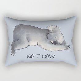 Koala Sketch - Not Now - Lazy animal Rectangular Pillow