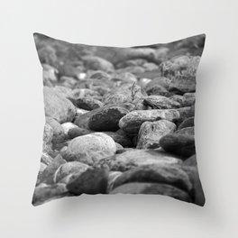 Stones. Throw Pillow