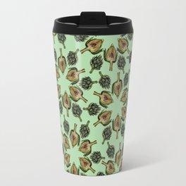 Swirling Artichokes Travel Mug