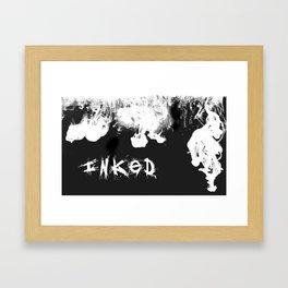 INKED Framed Art Print
