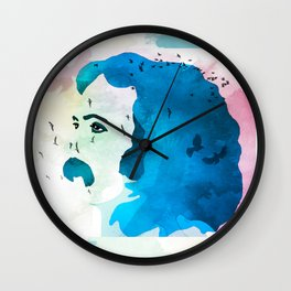 David Crosby Music is Love Wall Clock