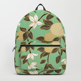 Orange garden Backpack