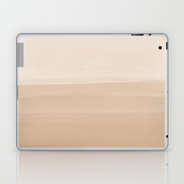 Touching Warm Beige Watercolor Abstract #1 #painting #decor #art #society6 Laptop & iPad Skin