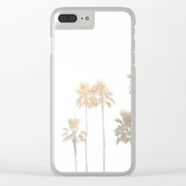 Tranquillity - gold dust Clear iPhone Case