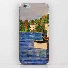 Peaceful Harbor iPhone Skin