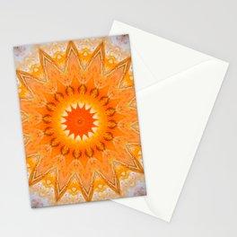 Sunny Mandala Design Stationery Cards