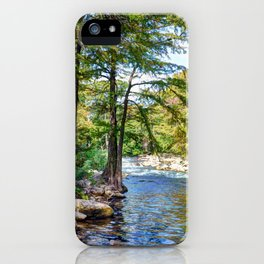 Guadalupe River - Gruene Texas iPhone Case