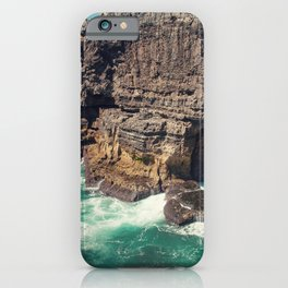Hell's Mouth Grotto iPhone Case