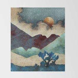 Evening Calm Throw Blanket