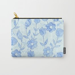 Watercolor Floral VII Carry-All Pouch
