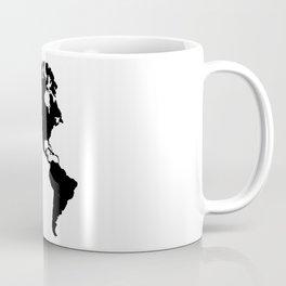 The Americas Silhouette Coffee Mug