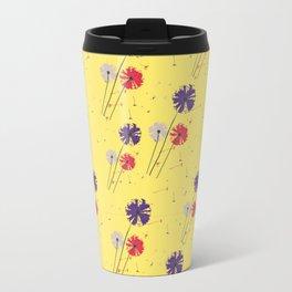 Flowers in the window Travel Mug