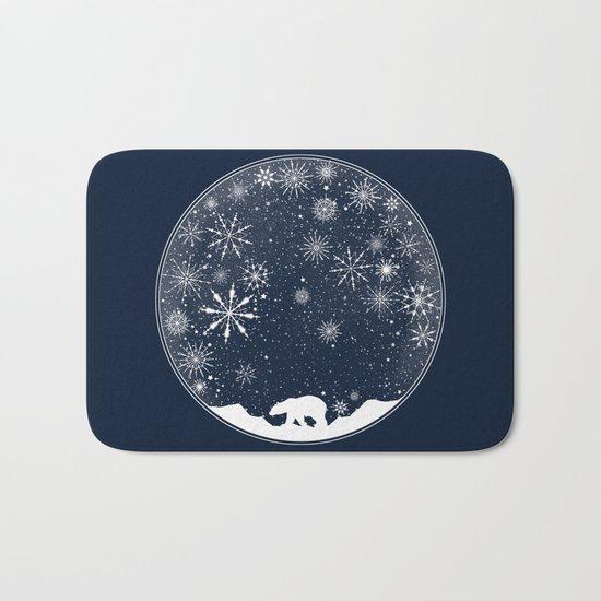 Snow Globe Bath Mat