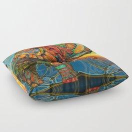 Elephant's Dream Floor Pillow