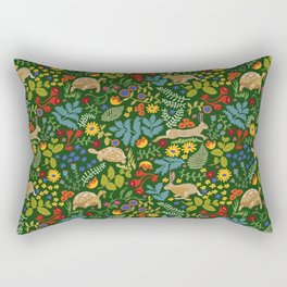 Tortoise and Hare Rectangular Pillow