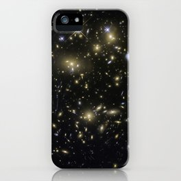 Galaxy Cluster MACSJ0717.5+3745 iPhone Case