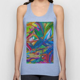 Shepherd of Waves Unisex Tank Top