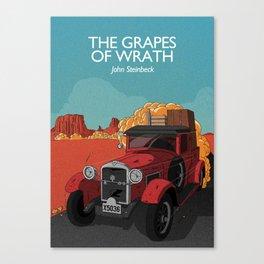 The Grapes of Wrath - John Steinbeck Canvas Print