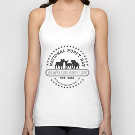 National Puppy Day Unisex Tank Top