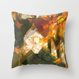 Isak+Even x Autumn Throw Pillow