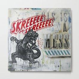 Skreeee Metal Print