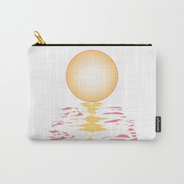 Sun Background Carry-All Pouch