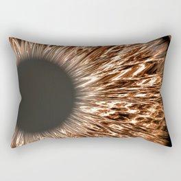 The Brown Iris Rectangular Pillow