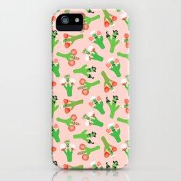 Cacti Crazi iPhone Case