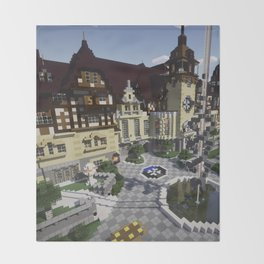 OverCast Peles Castle Throw Blanket