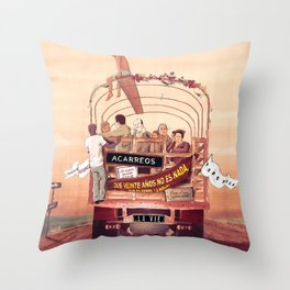 La Vie Throw Pillow
