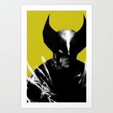 Logan the X-Man Art Print