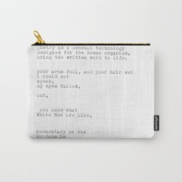 untitled (after 'the waste land') Carry-All Pouch