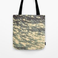 sparkles Tote Bags featuring Sparkles  by Julia Kovtunyak