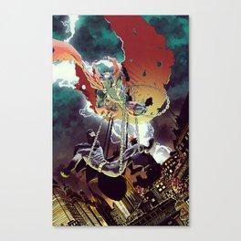 Spawn vs The Bat Canvas Print